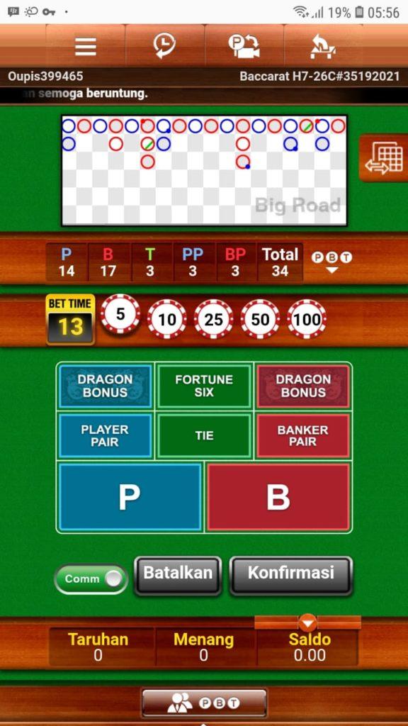 Cara Main Casino Baccarat Superbandar