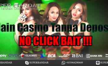Main Casino Tanpa Deposit